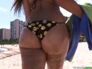 povlife الحمار كبيرة smalltits امرأة سمراء حجر نيكي بوف الجنس