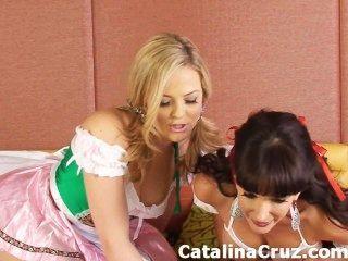 كاتالينا كروز الجنس الحي مثليه مع الكسيس تكساس