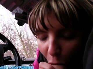 publicagent nympho صغيرتي جينا مارس الجنس في سيارتي