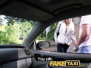 وقصفت ملاك faketaxi بلدي الديك في بلدي سيارة أجرة