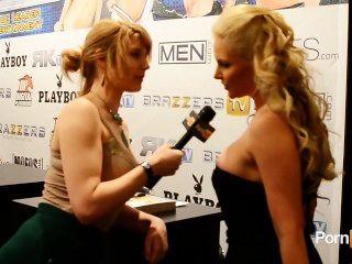 مقابلة pornhubtv طائر الفينيق ماري في 2013 AVN جوائز