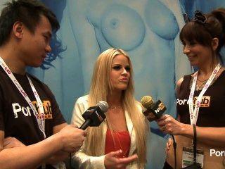 pornhubtv jessa رودس مقابلة في 2014 AVN جوائز