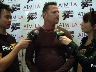 pornhubtv ديك chibbles مقابلة في 2014 AVN جوائز