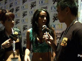 pornhubtv مقابلة ليلى الخطيئة في 2014 AVN جوائز