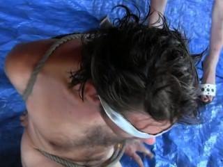 رقاقة الأزرق.3 نوع من femdom pussyeating.humiliated رجل من قبل سيلفيا chrystall