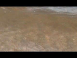 المرح على الشاطئ عارية مع الياقوت مثير