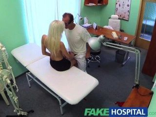 fakehospital الشقراوات الرطب والبرية ضيق كس يقنع الطبيب
