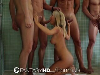 HD fantasyhd تاشا عهد هو وجود العربدة مع ثلاثة رجال