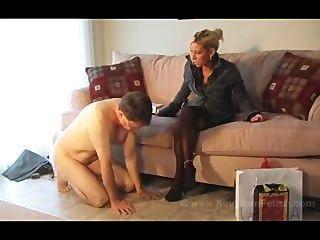 زوجة الساخنة يأخذ السيطرة