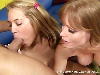 كيمبرلي وأمها اللعنة الدهون الديك ضخمة