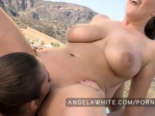 أنجيلا الأبيض وداني دانيلز سخيف خارج