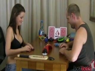 هواة زوجين دفع للألعاب الجنس على الفيديو