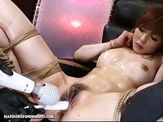 اليابانية عبودية الجنس العقاب بدسم المدقع من ايومي