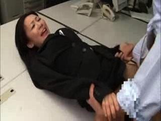 اليابانية الأسود مكتب دعوى سيدة bukkake اللعنة