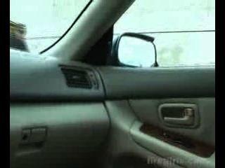 إفراغ كرات في موقف للسيارات