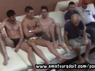 تلبية للهواة الساخنة الرجال الاسترالي ومشاهدتها على استعداد ل6way مجموعة