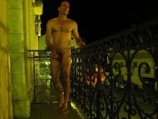 كوتيريه فرنسا شرفة الفندق ليلا