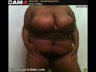 whore4ur أفلام Cam4 ضخمة الأبنوس سلوتي الثدي التعري