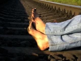 قدم قذرة