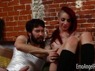 ارتفع فاسق شينا الشرج مارس الجنس من قبل رجل
