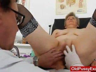 زوجة gyno الحق في القيام به، بالإضافة إلى أداة طبية