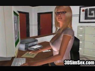 3D مثليات الجنس سيم