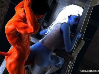assazell وقحة مثير الأزرق