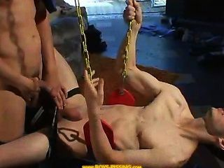 سكران على ثم مارس الجنس في حبال.