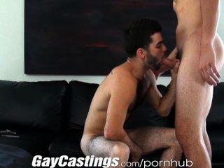 gaycastings لطيف الممثل فروي على استعداد للقيام الاباحية نقدا