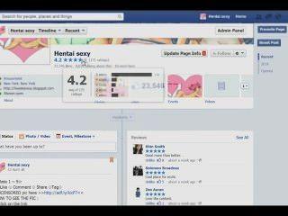 الفيسبوك صفحة المعجبين hentaicomicsexy
