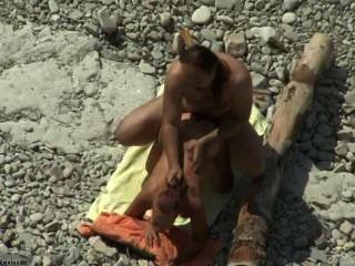 الشاطئ الجنس الهواة # 06