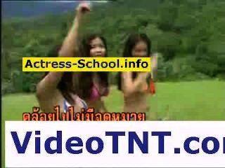 مثير الفتيات التايلاندية الفاسقات بيكيني عارية القحبة الثلاثون الإباحية اللعنة عارية