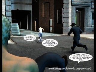 فكاهي 3D: ناقل.الحلقات 1 4