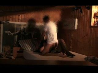 فتاة الساخنة اليابانية الهواة يرتدي زي خادمة الفرنسية يحصل استغل من قبل الرجل الأبيض