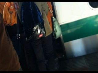 gropers الحقيقية في القطار الياباني 1