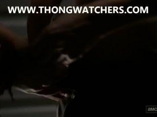 لورين مشهد الجنس كوهان في ميت يمشي