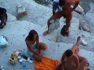 الشاطئ الجنس الهواة # 32