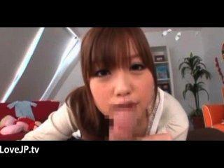 الآسيوية في سن المراهقة كتي يحب هذا ديك