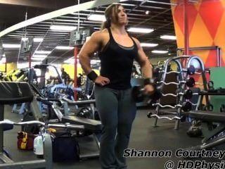 شانون ج الصالة الرياضية العضلات (كاملة)