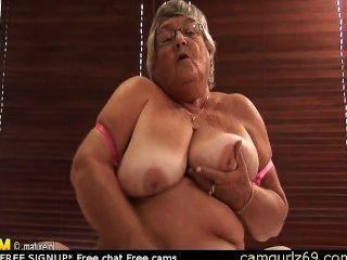 العمر الاستمناء الجدة الهواة على كام كام زوجين camsex الحية