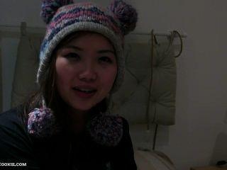هواة الساخن مفلس الآسيوية في سن المراهقة مارس الجنس من الصعب فرنك غيني