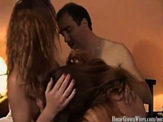 جانين ريجز sexxy الملقب مغوي فيرونيكا من قبل زوجين حار جار