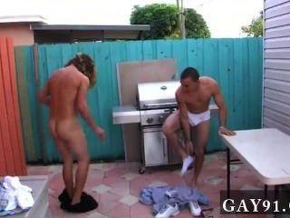 مثلي الجنس الجنس الساخن حتى هؤلاء الناس حصلت الإبداعي.زوجين من فراط الأكبر