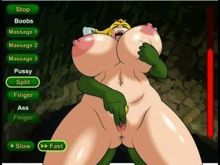 أميرة الكلبة لعبة الجنس هنتاي (نينتندو)