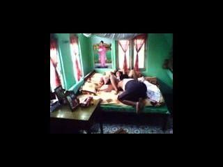 ميانمار زوج حقيقي يمارس الجنس مع زوجته