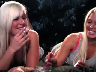 بيكي وجيما التدخين