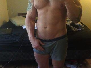 العضلات الساخنة مثير
