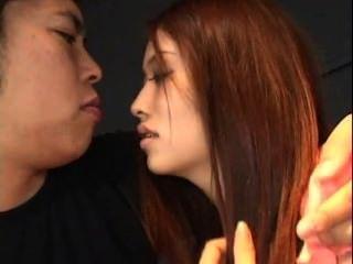 تحصل مارس الجنس في سن المراهقة الآسيوية وCREAMPIE