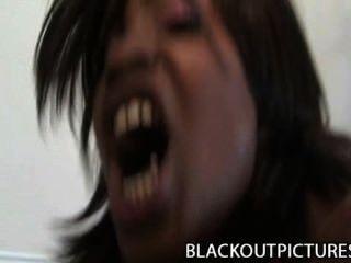 الكرمل تطور صاخبة الكلبة السوداء حفر من قبل سوداء الديك الدهون