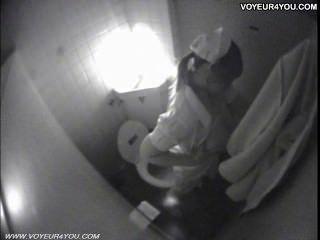 الاستمناء المرحاض القبض سرا SPYCAM
